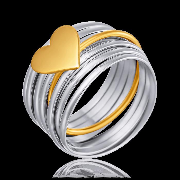 Купить Кольцо без вставок из серебра 925 пробы