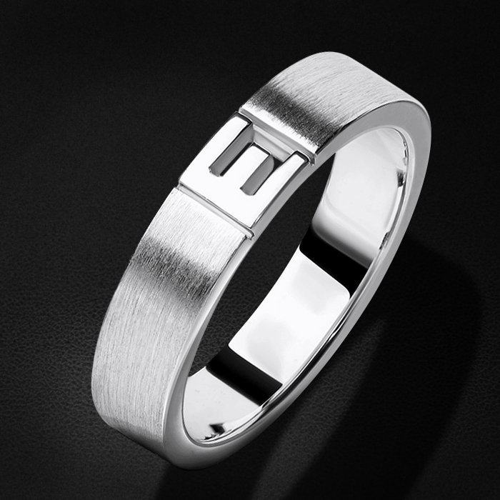 Кольцо без вставок из белого золота 585 пробыКольца<br>Кольцо без вставок из белого золота 585 пробы. Средний вес изделия: 4,89 гр.<br>
