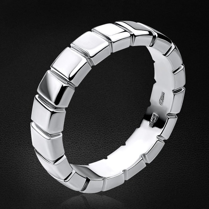 Лаконичное кольцо из белого золота 585 пробыКольца<br>Лаконичное кольцо из белого золота 585 пробы. Средний вес изделия: 10,55 гр.<br>