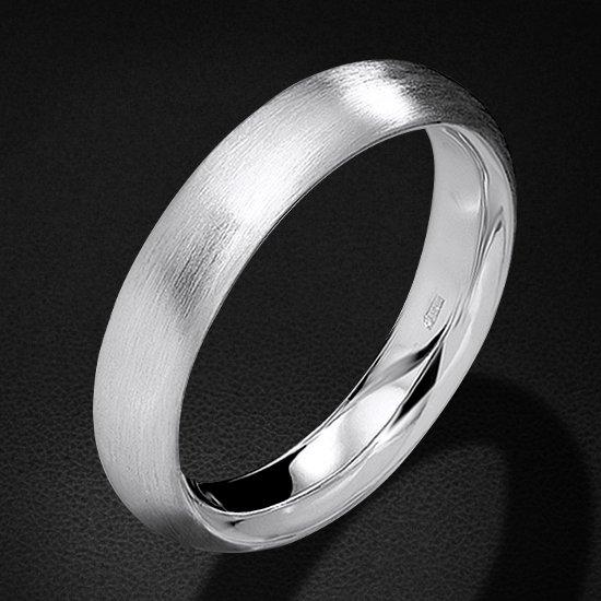 Кольцо без вставок из белого золота 585 пробыКольца<br>Кольцо без вставок из белого золота 585 пробы. Средний вес изделия: 7,46 гр.<br>