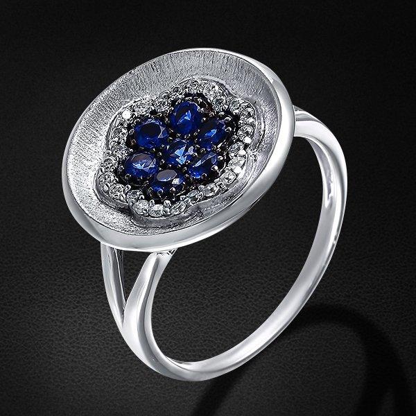 Кольцо с цирконием из серебра 925 пробыКольца<br>Кольцо с цирконием из серебра 925 пробы. Средний вес: 3,66 гр.<br>