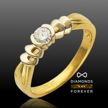 Кольцо с бриллиантами из белого золота 750 пробыКольца<br>Кольцо с бриллиантами из белого золота 750 пробы. Характеристики: бриллиант 5/4 1шт.,0.22ct. Средний вес изделия: 4,33 гр.<br>